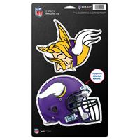 "Picture of Minnesota Vikings 2 Pack Magnets 5"" x 9"""
