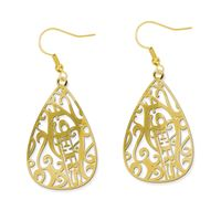 Picture of San Francisco 49ers Filigree Earrings