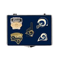Picture of St Louis Rams 5 pc Pin Set