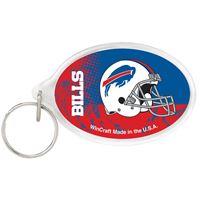 Picture of Buffalo Bills Acrylic Key Ring Rectangle
