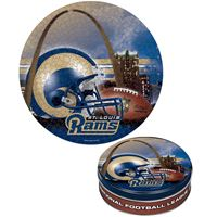 Picture of St Louis Rams Puzzle tin