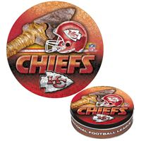 Picture of Kansas City Chiefs Puzzle tin