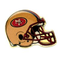 Picture of San Francisco 49ers Plated Pins Clamshell