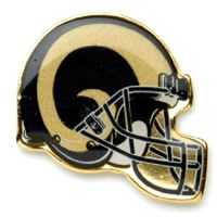 Picture of St Louis Rams Plated Pins Clamshell