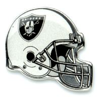 Picture of Oakland Raiders Plated Pins Clamshell