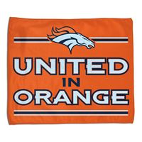 "Picture of Denver Broncos Rally Towel 15"" x 18"""