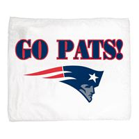 "Picture of New England Patriots Rally Towel 15"" x 18"""