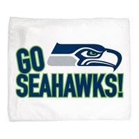 """Picture of Seattle Seahawks Rally Towel 15"""" x 18"""""""