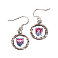 Picture of US Soccer - National Team Earrings Jewelry Carded Round