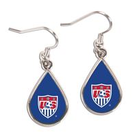 Picture of US Soccer - National Team Earrings Jewelry Carded Tear Drop
