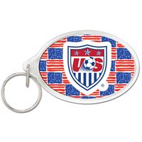 Picture of US Soccer - National Team Acrylic Key Ring Oval
