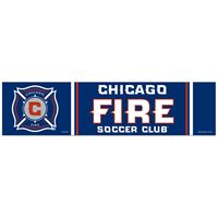 "Picture of Chicago Fire Bumper Strip 3"" x 12"""