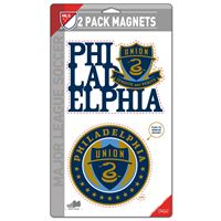"""Picture of Philadelphia Union 2 Pack Magnets 5"""" x 9"""""""