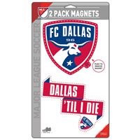 """Picture of FC Dallas 2 Pack Magnets 5"""" x 9"""""""