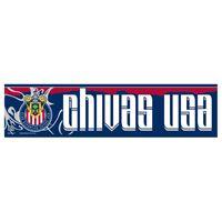 "Picture of MLS Chivas USA Bumper Strip 3"" x 12"""
