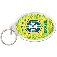 Picture of CBF Brasil Acrylic Key Ring Oval