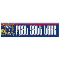 "Picture of Real Salt Lake Bumper Strip 3"" x 12"""