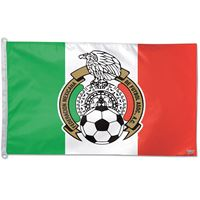 "Picture of Mexican National Soccer Horizontal Flag 27"" x 38"""