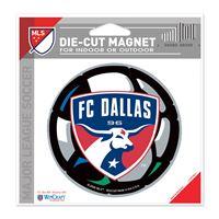"Picture of FC Dallas Die Cut Magnet 45"" x 6"""