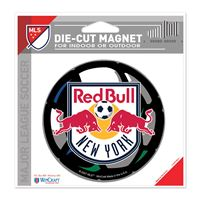 "Picture of New York Red Bulls Die Cut Magnet 45"" x 6"""