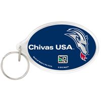 Picture of MLS Chivas USA Acrylic Key Ring Carded Oval