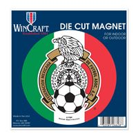 """Picture of Mexican National Soccer Die Cut Magnet 45"""" x 6"""""""