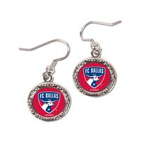 Picture of FC Dallas Earrings Jewelry Carded Round