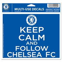 """Picture of Chelsea FC Multi-Use Colored Decal 5"""" x 6"""""""
