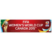"""Picture of Women's World Cup Generic Bumper Strip 3"""" x 12"""""""