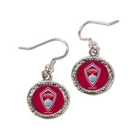 Picture of Colorado Rapids Earrings Jewelry Carded Round