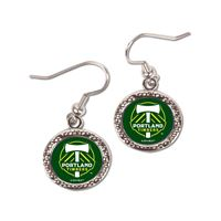 Picture of Portland Timbers Earrings Jewelry Carded Round