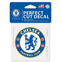 """Picture of Chelsea FC Perfect Cut Color Decal 4"""" x 4"""""""