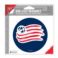 "Picture of New England Revolution Die Cut Magnet 45"" x 6"""