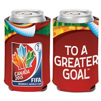 Picture of Women's World Cup Generic Can Cooler 12 oz