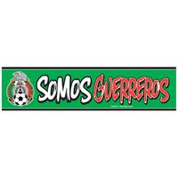 """Picture of Mexican National Soccer Bumper Strip 3"""" x 12"""""""