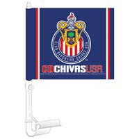 """Picture of MLS Chivas USA Car Flag 1175"""" x 14"""""""