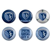 "Picture of Sporting Kansas City Button 6 Pack 2"" Round"