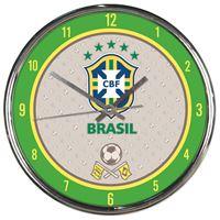 Picture of CBF Brasil Chrome Clock