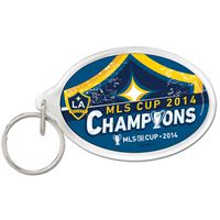 Picture of Los Angeles Galaxy Acrylic Key Ring Carded Oval