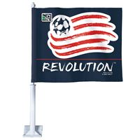 "Picture of New England Revolution Car Flag 1175"" x 14"""