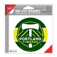 "Picture of Portland Timbers Die Cut Magnet 45"" x 6"""
