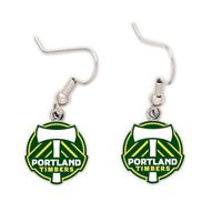 Picture of Portland Timbers Earrings Jewelry Card