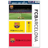"Picture of FC Barcelona Multi Use Decal 11"" x 17"""