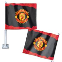 """Picture of Manchester United Car Flag 1175"""" x 14"""""""