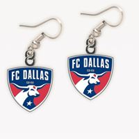 Picture of FC Dallas Earrings Jewelry Card