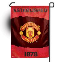 """Picture of Manchester United Garden flag 11"""" x 15"""""""