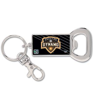 Picture of Houston Dynamo Bottle Opener Key Ring Rectangle
