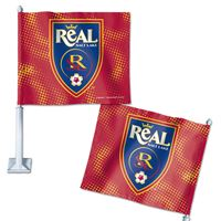 """Picture of Real Salt Lake Car Flag 1175"""" x 14"""""""