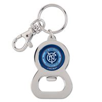 Picture of New York City FC Bottle Opener Key Ring oval