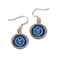 Picture of New York City FC Earrings Jewelry Carded Round